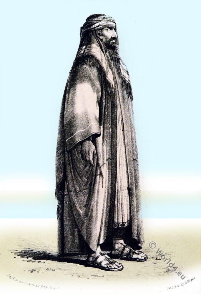 Abdallah I. ibn Saud. Sheikh, Wahhabi, Emir, Saudi State, Imam, arabia costume