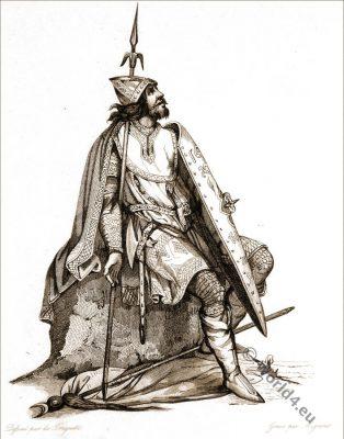 Charles Martel. Salian Frankish. Merovingian