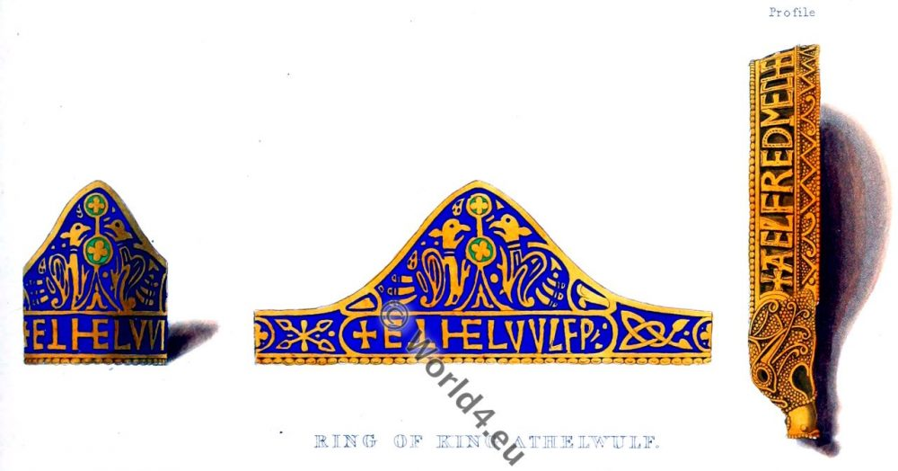 King, Athelwulf, middle ages, jewelry, anglo-saxon,
