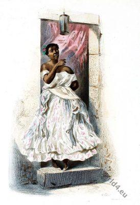 Mulâtresse, Mulatto costume, Latin America