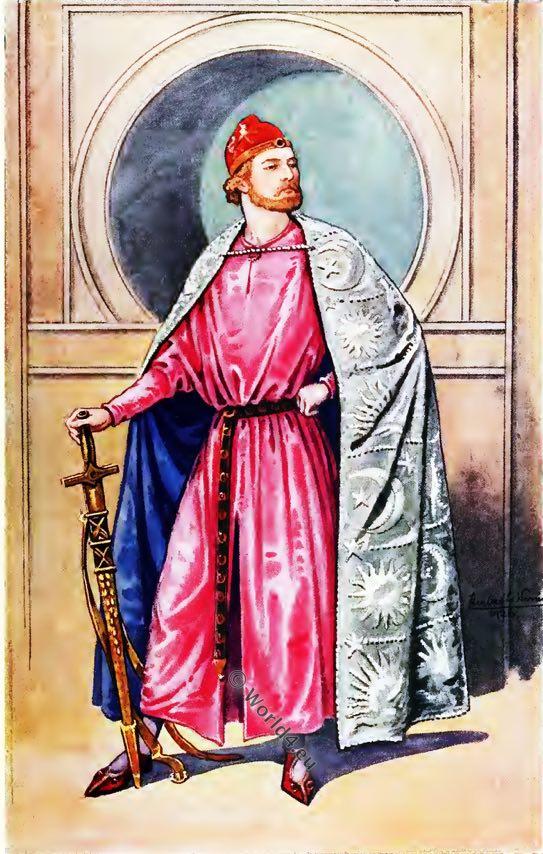 RICHARD I, England, King, middle ages, 12th century fashion