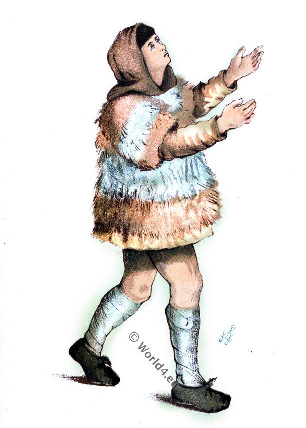 Shepherd costume. William I, England 11th century