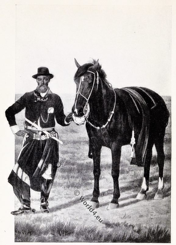 Argentine, Gaucho, costume, dress, traditional