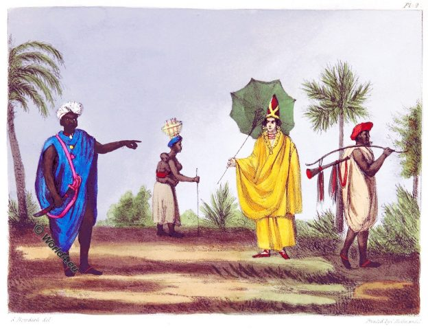 Gambia, Africa, Traditional, historical, costumes