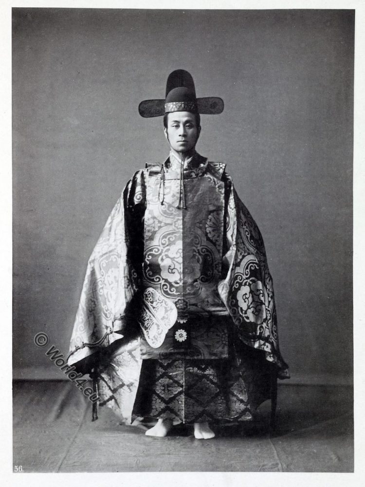 Old court dress, historical, historic, Japan, costume, Kazuma Ogawa, Photographer,