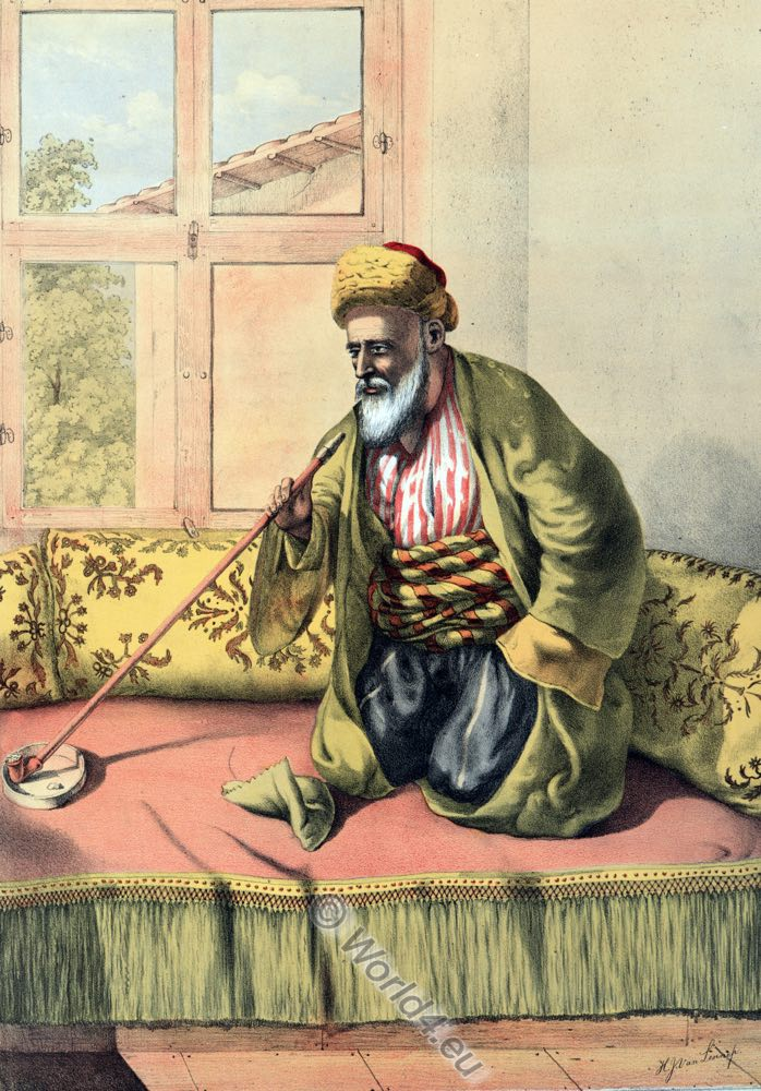 Turkish Effendi, Ottoman costumes, Ottoman Empire, Historical Clothing, Turkey, Costume history