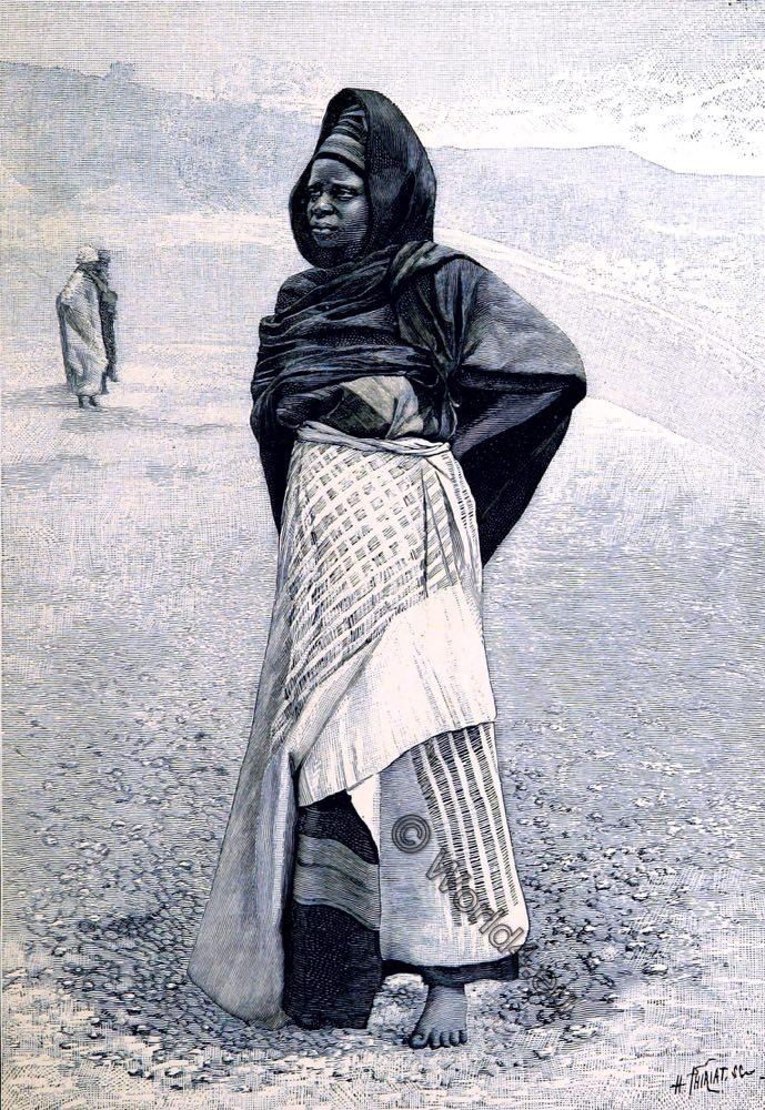 Nigeria, Nupe, costume, historical, West Africa,