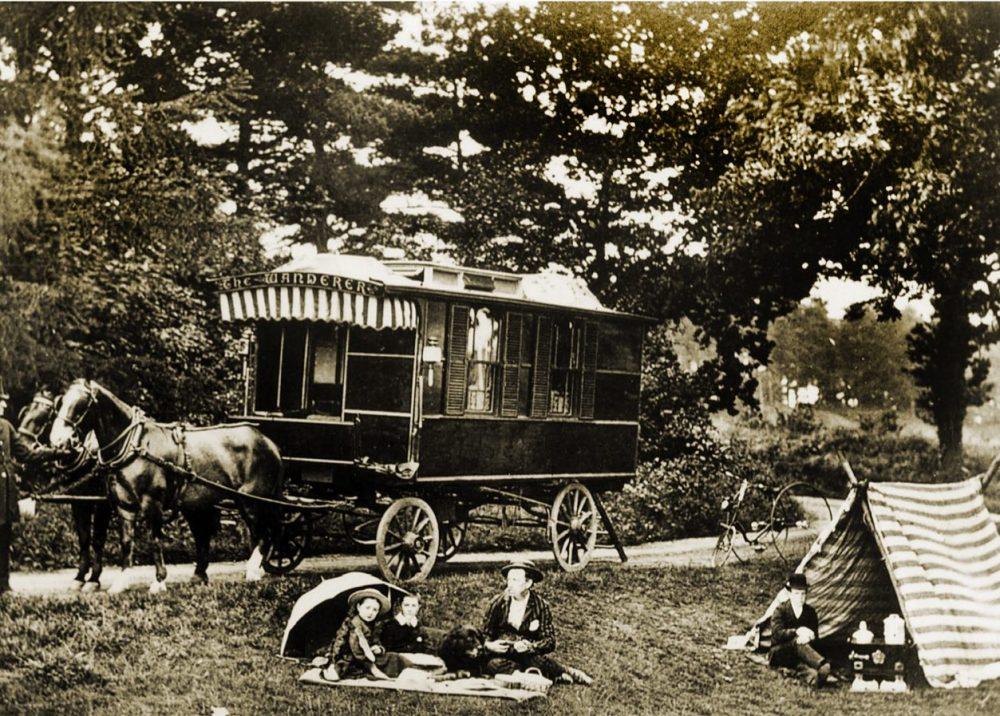 Wanderer, caravan, Gordon Stables, camping
