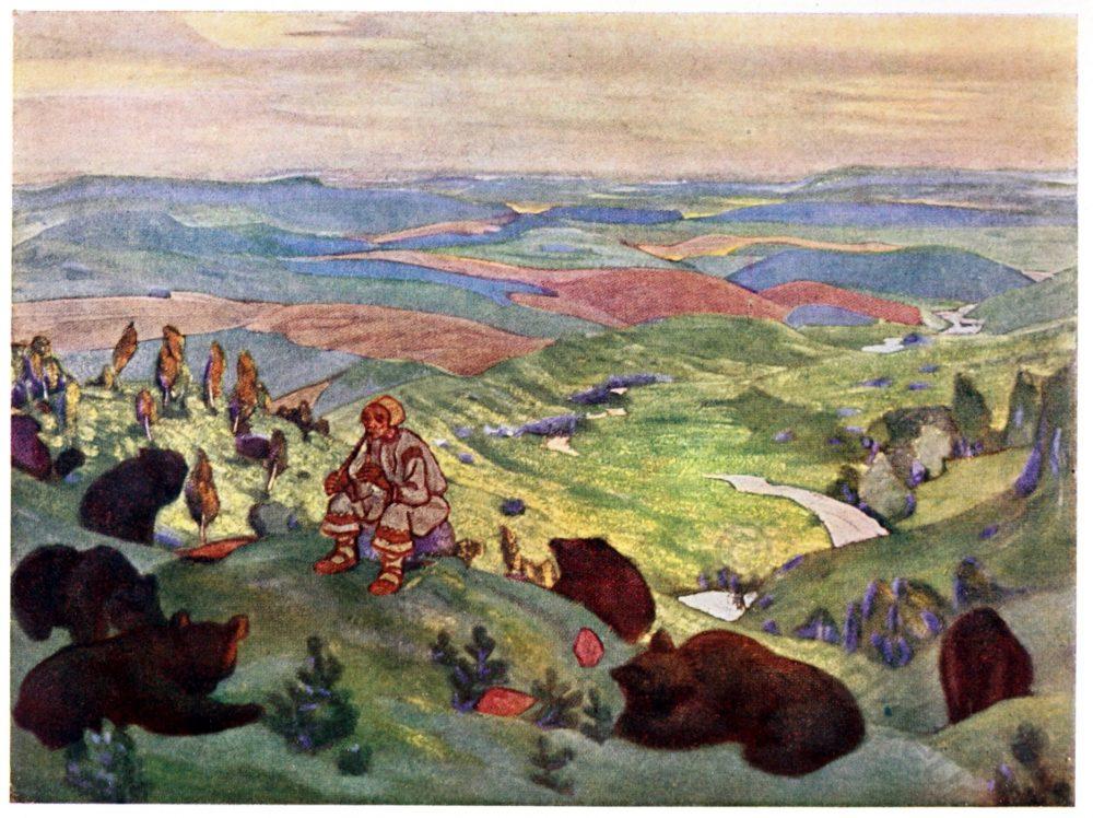 Nicholas Roerich, Ancestors, Russia, Art, culture,