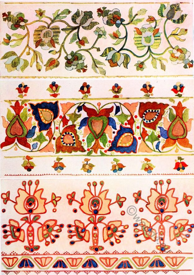 Silk, Embroidery, design, Ukraine,Peasant art
