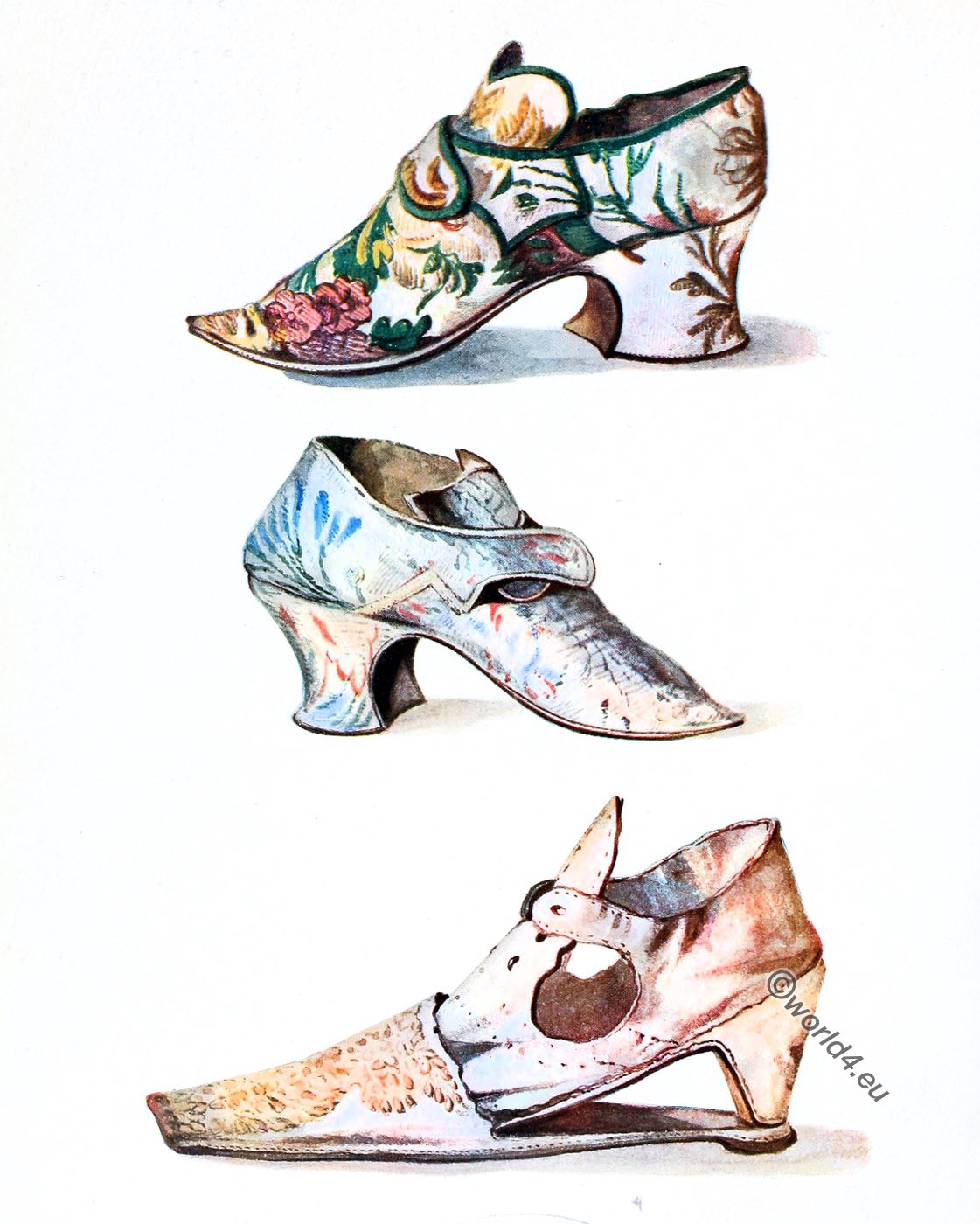 Shoe, fashion, baroque, 18th century,