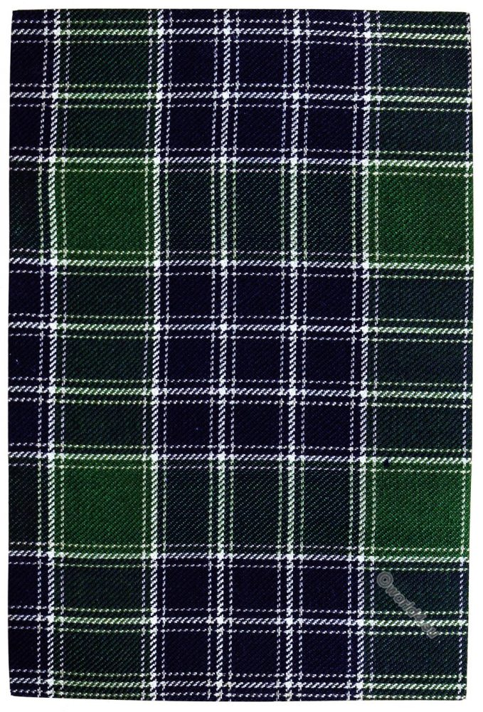 Tartan, Hunting, Clan, LORD, ISLES, Scottish, Scotland
