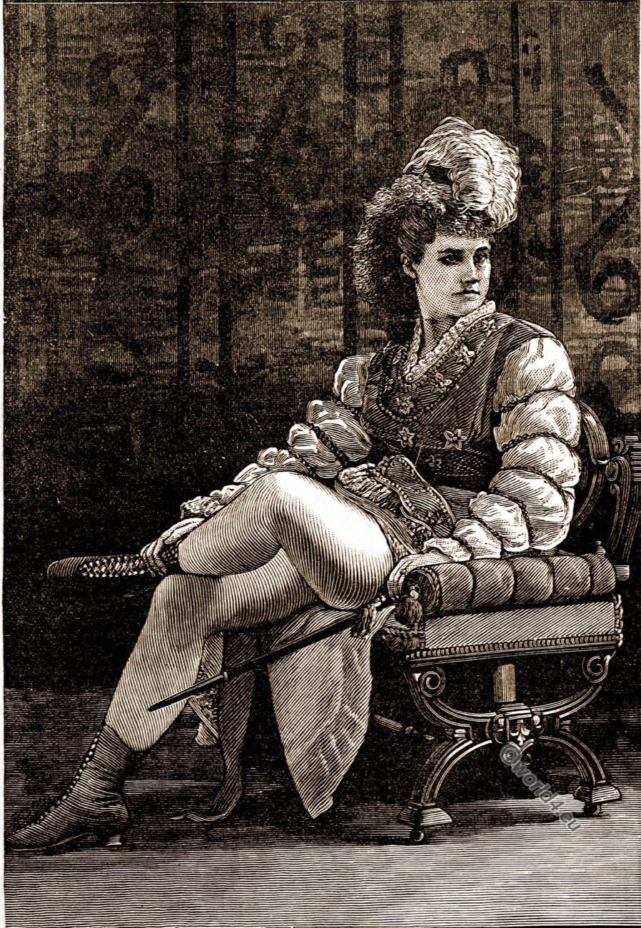 Pauline Markham, Samuel Anderson Mackeever, Gotham, Author, New York, costume, theater