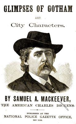 Samuel Anderson Mackeever, Gotham, Author, New York, costume, theater