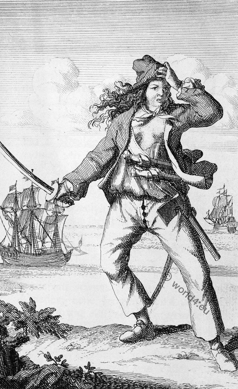 Mary Read, famous, female, pirates,