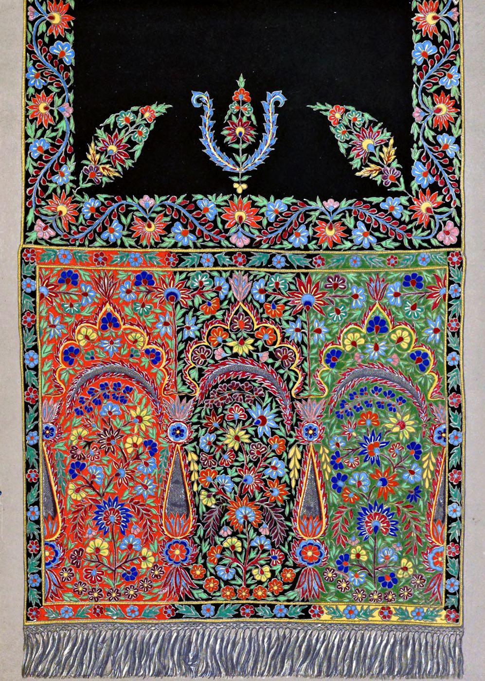 Bobinet, Scarf, India, Textil, Art, Design, India