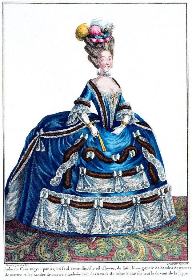 Countess, Provence, Galerie des Modes, rococo fashion,