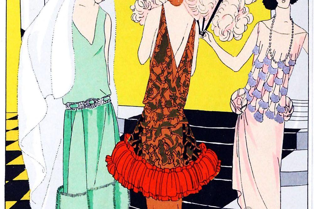Fashion, Jean Patou, Jeanne Hallée, Molyneux, Art-deco, costumes, haute couture