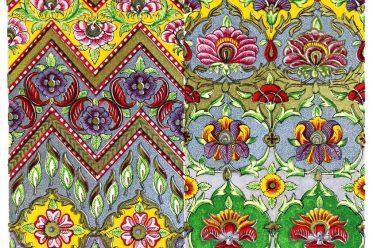 Oriental art, persia, Iran, design, fabric, ornaments