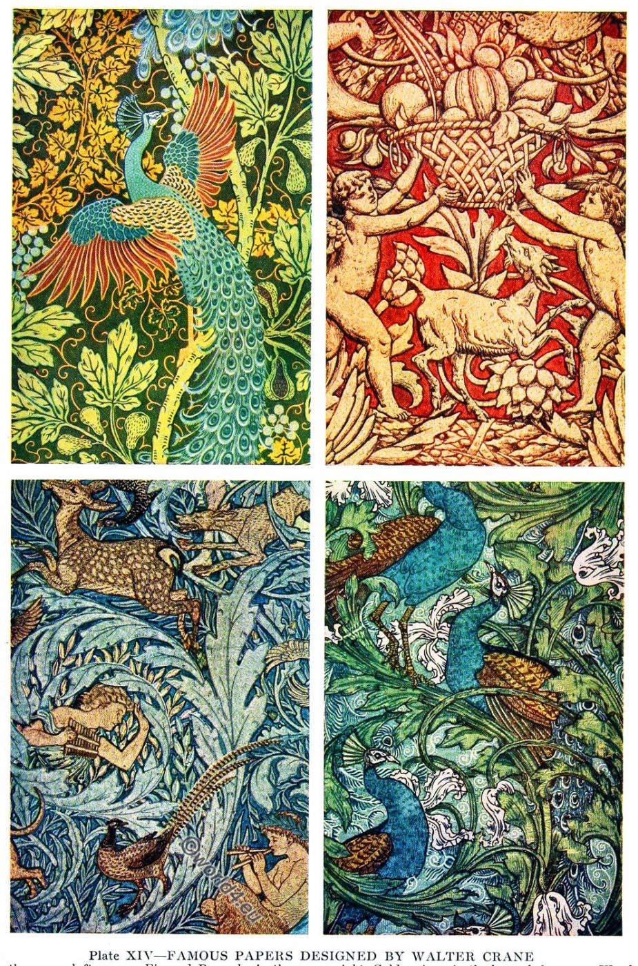Peacock, Golden Age, papers, Walter Crane