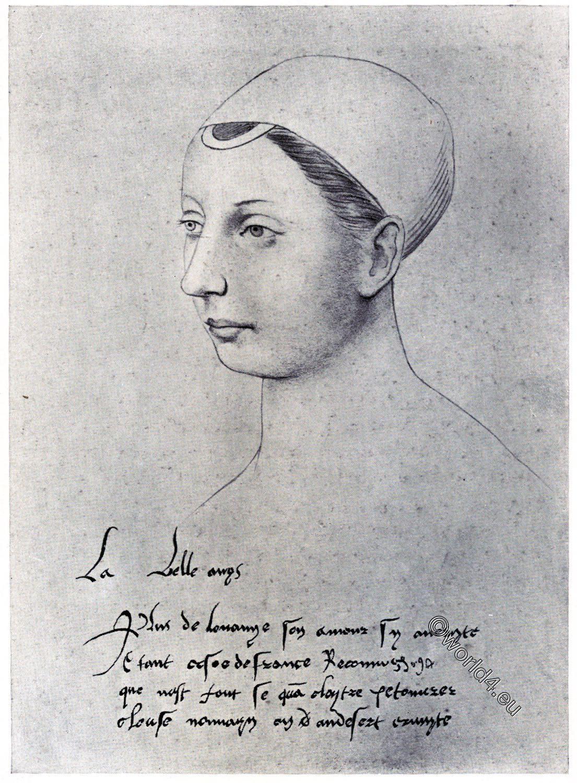 Agnes Sorel, mistress, France, Portrait
