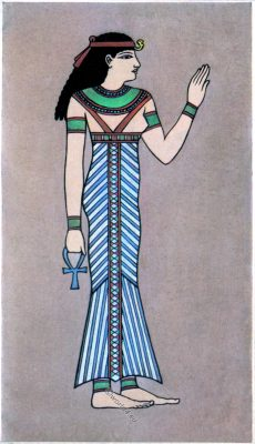 Ancient, Egyptian, Queen, costume, dress, gown
