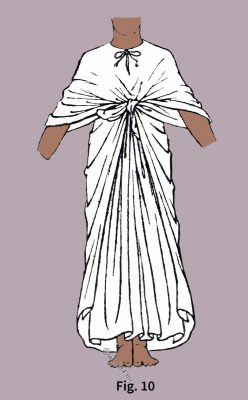 Ancient, Egypt, fashion, history, Egyptian Robe, Draped,