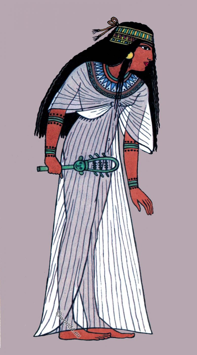 Ancient, Egypt, fashion, history, Egyptian Robe