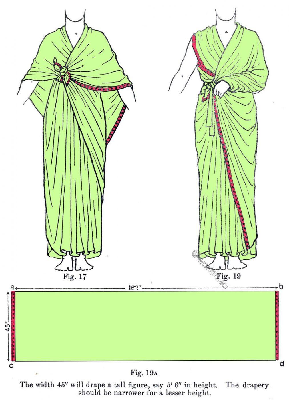 Ancient, Egypt,Garment, costume, history, Shawl, Drapery