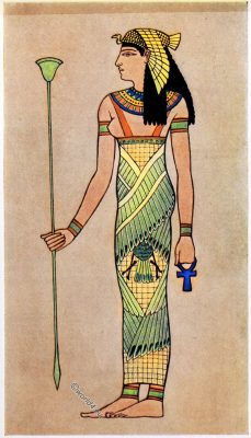 Ancient, Egyptian, costumes, Egypt, Goddess, dress