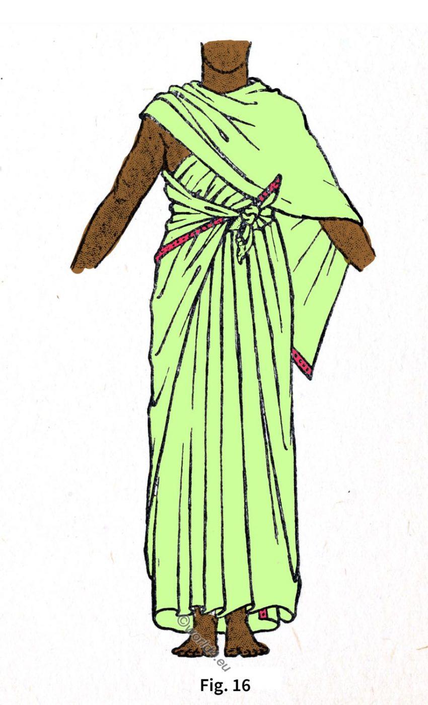 Ancient, Egyptian,Shawl,Drapery
