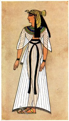 Ancient, Egyptian, Queen, costume, history fashion