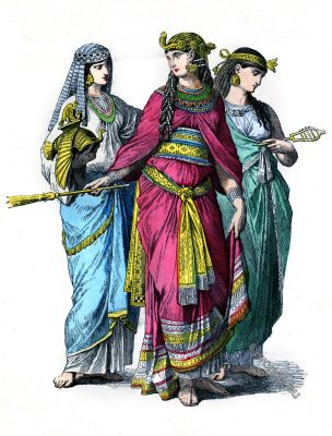 Ancient, Egyptian, Queen, costume, fashion history