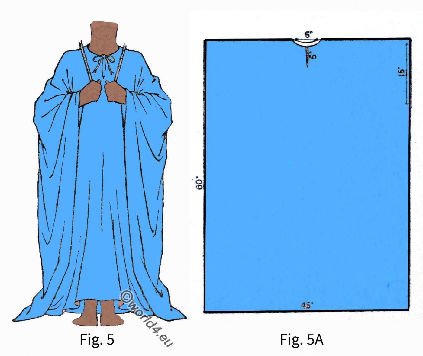 Ancient, fashion, history, Egyptian Robe