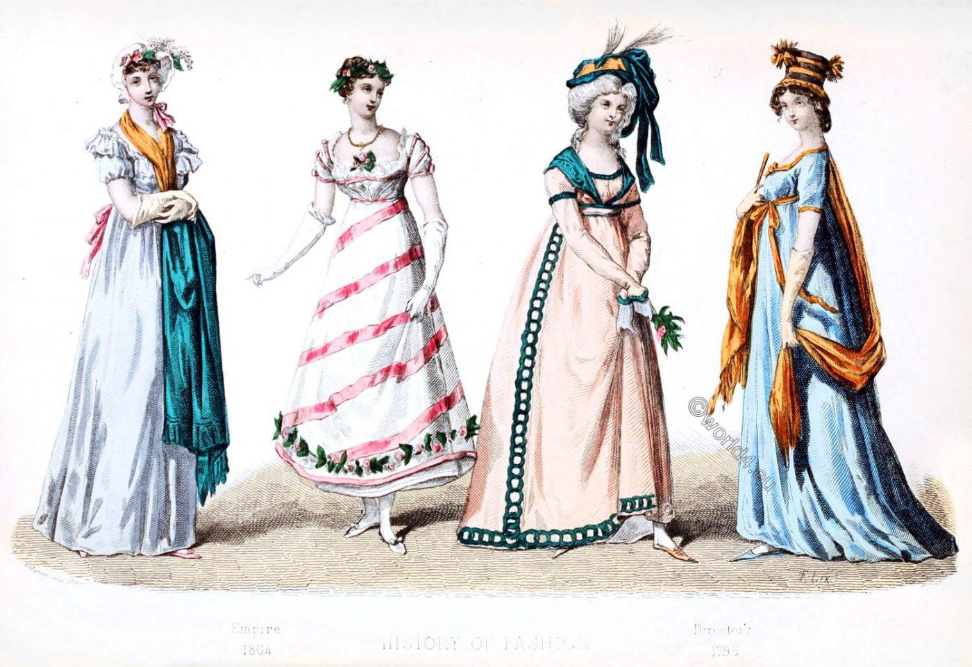 Fashion History, Directory, Empire,
