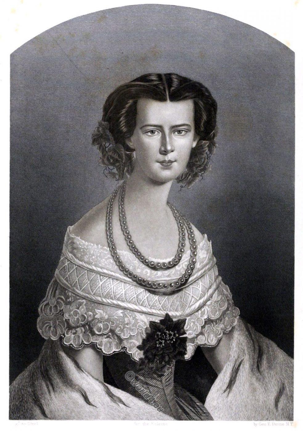 Empress, Elisabeth of Austria,