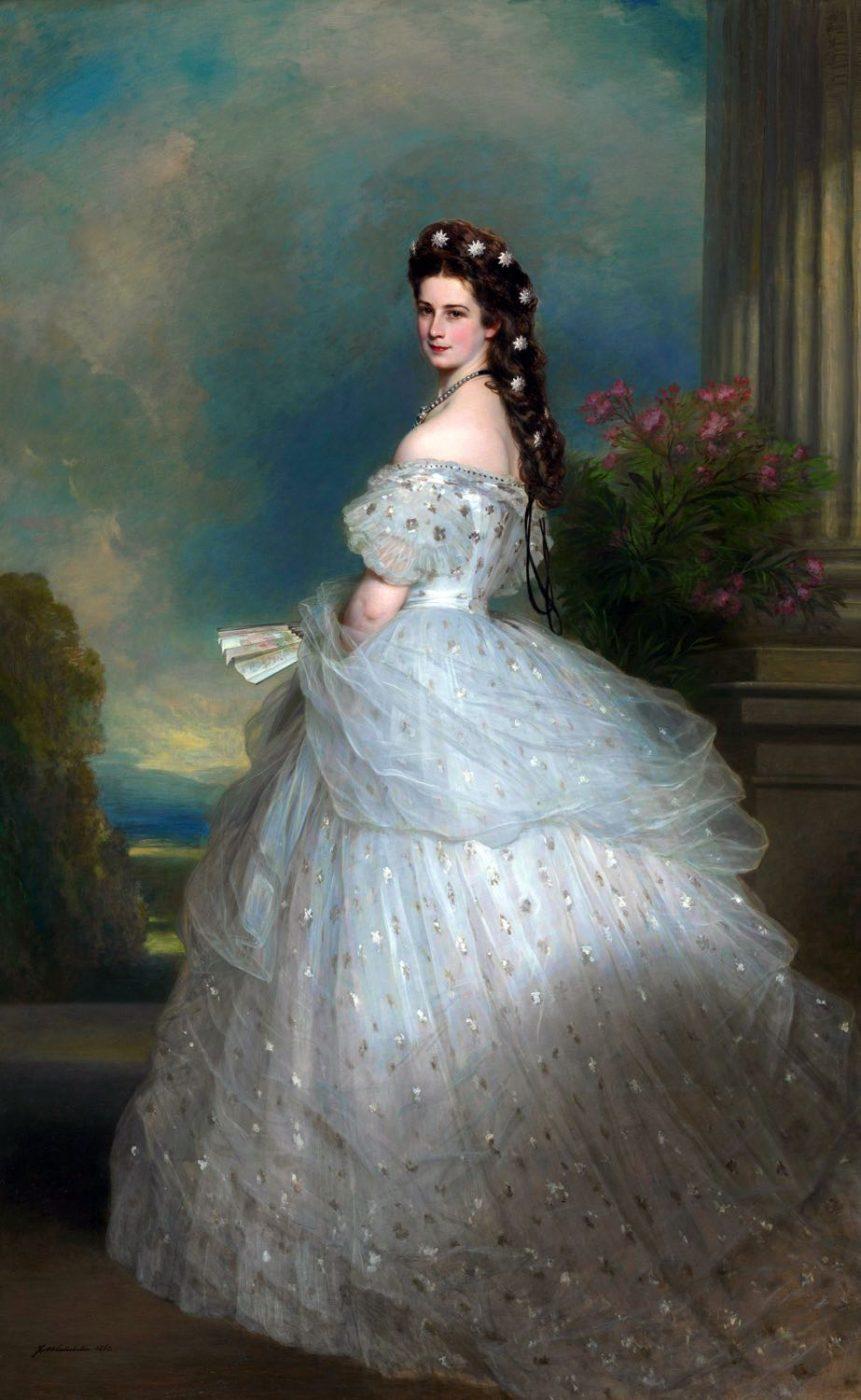 Empress, Elisabeth, sissi, Austria, Courtly Gala, Dress, Winterhalter