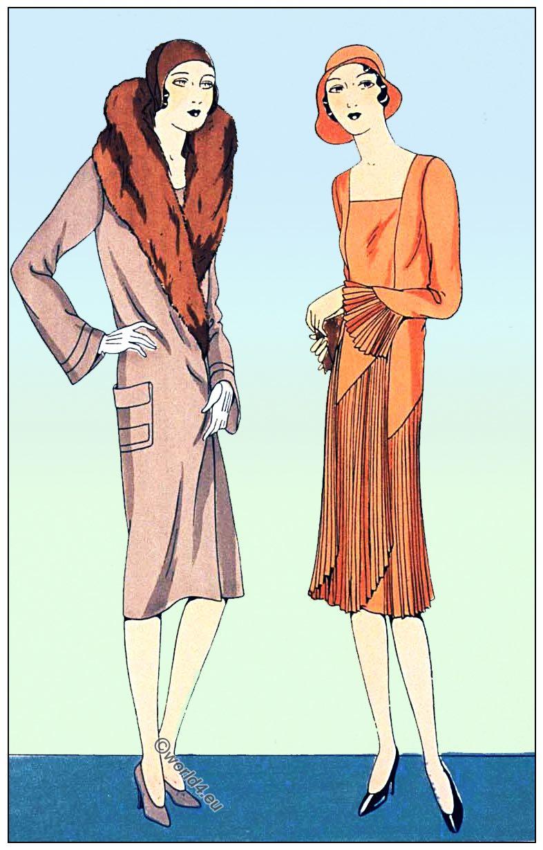 JEAN PATOU, BERNARD & Cie, Flapper, costume, Fashion, 1920s