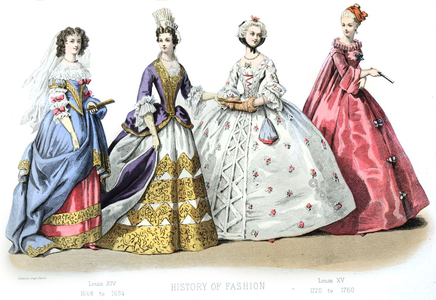 Reign Louis Xiv French Fashion History 1643 To 1715