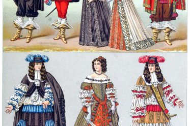 Aristocracy, Louis XIV, 17th, century, fashion, history, baroque