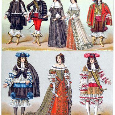 Aristocracy, Louis XIV, 17th, century, fashion, history, baroque