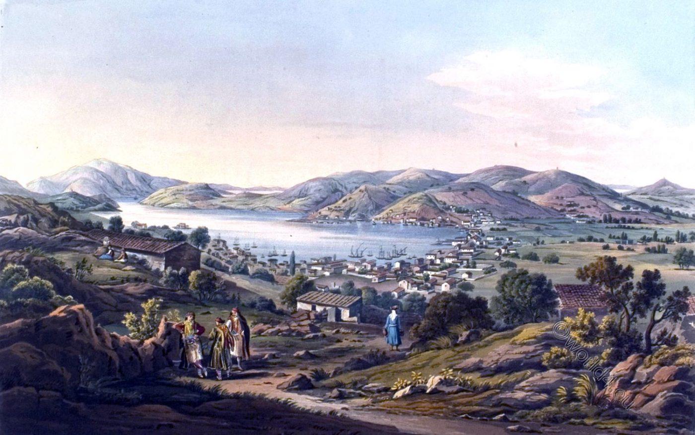 Ithaca, Ithaka, Greece, Port Bathy,