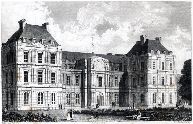 Luxembourg Palace, Paris, Palais du Luxembourg, Jardin du Luxembourg