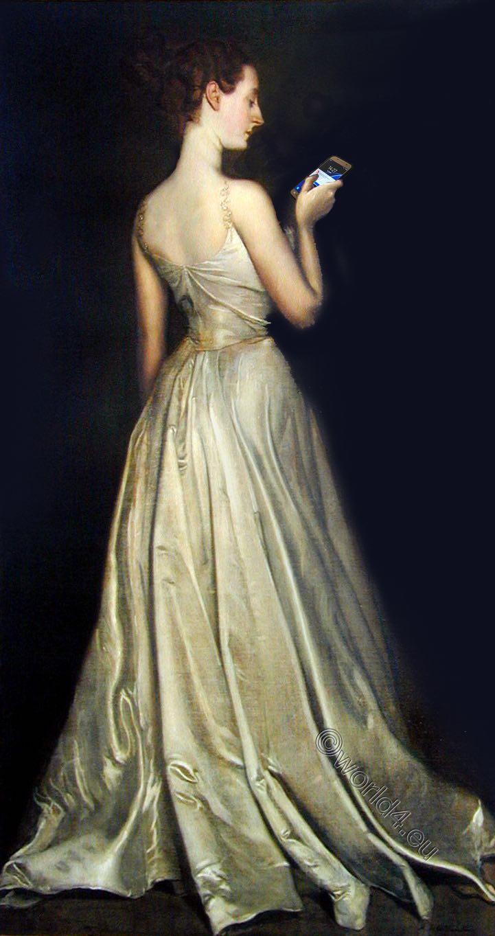 Madame Pierre Gautreau, Antonio de la Gandara, Portrait,