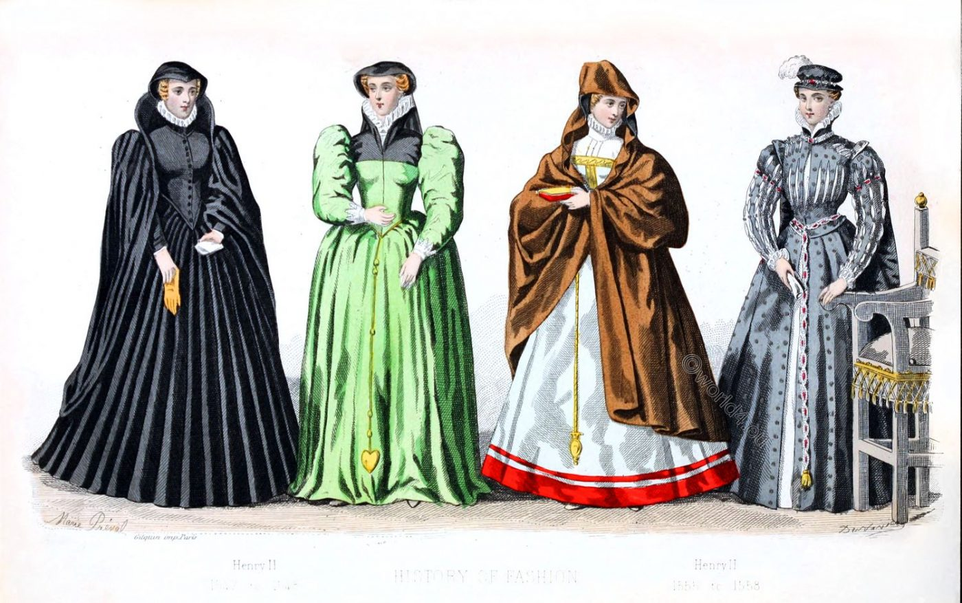 Renaissance, fashion history, 16th century