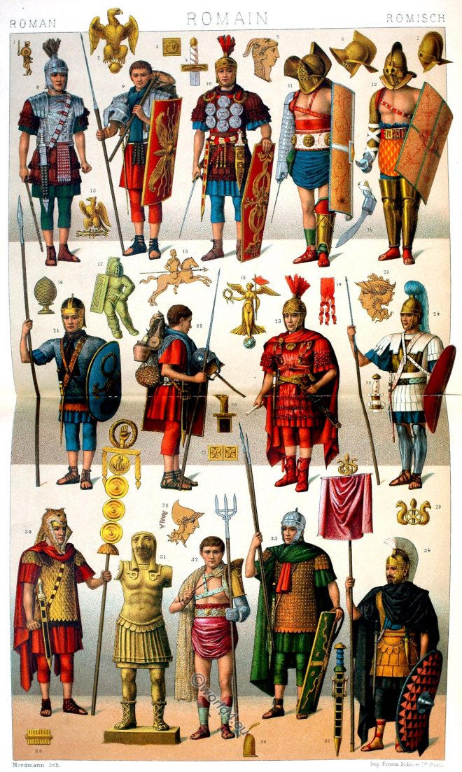 Roman, soldier, legionnaires, gladiators, ancient, armor
