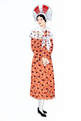 Champagne, Costume, France, traditional clothing,