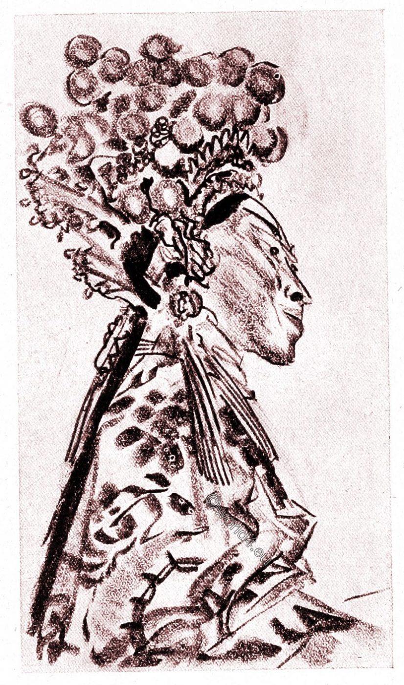 Actor, Opera, China, Theatre, illustration, Alexander Jewgenjewitsch Jakowlew