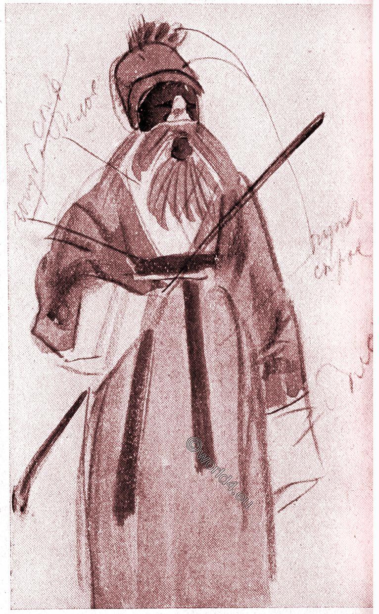 Comedian, Opera, China, Theatre, illustration, Alexander Jewgenjewitsch Jakowlew