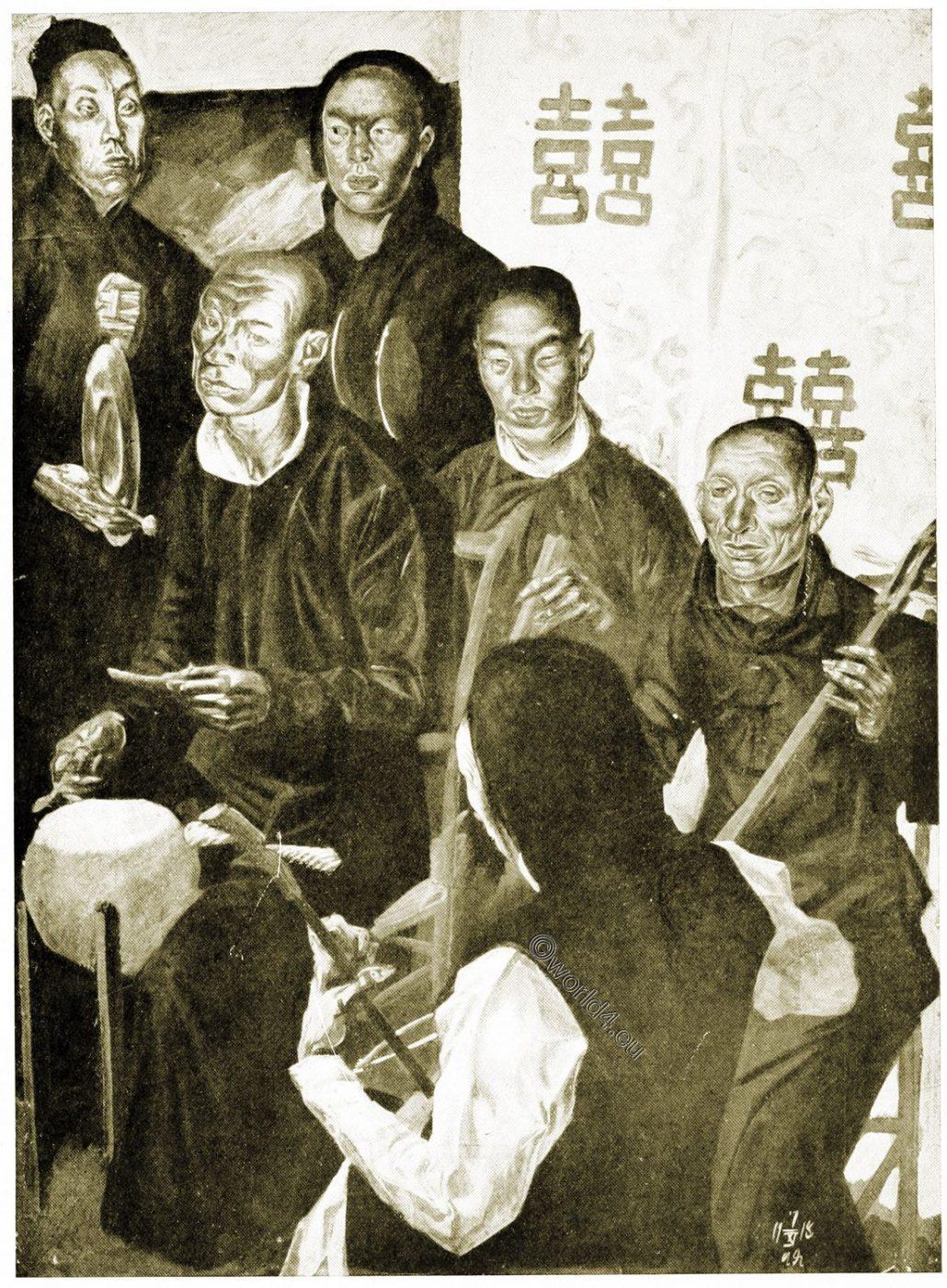 China, Art, musicians, Theatre, opera